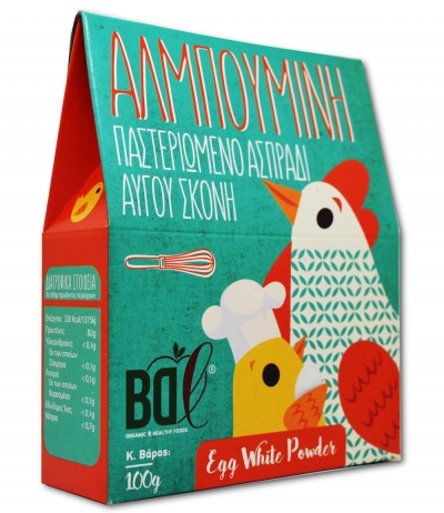 Αλμπουμίνη Παστεριωμένο Ασπράδι Αυγού σε Σκόνη